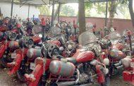 খুলনা ফায়ার সার্ভিসে চীনের উপহার দেওয়া ১০০ মোটরসাইকেলের ৭১টি বিকল