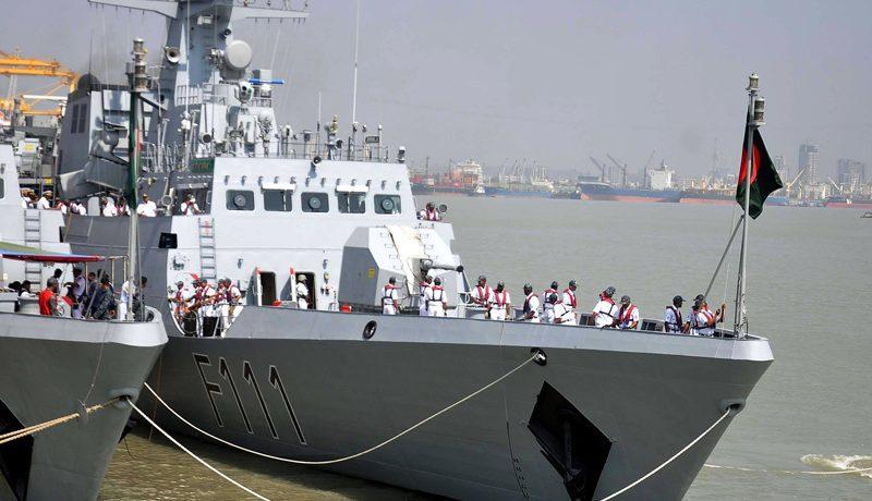 কাতারে সমুদ্র মহড়ায় যাচ্ছে নৌবাহিনীর যুদ্ধজাহাজ 'স্বাধীনতা'