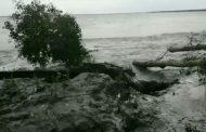 আমফানের আঘাতে খুলনা অঞ্চলে ব্যাপক নদী ভাঙন