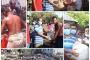 রূপসায় অগ্নিকান্ডে ৮ পরিবারের ঠিকানা স্কুল মাঠ, খাদ্য সহায়তা প্রদান